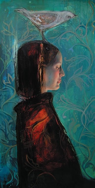 Sol Halabi (born in 1977). She is an Argentian artist who paints in mixed media including tar and beeswax.