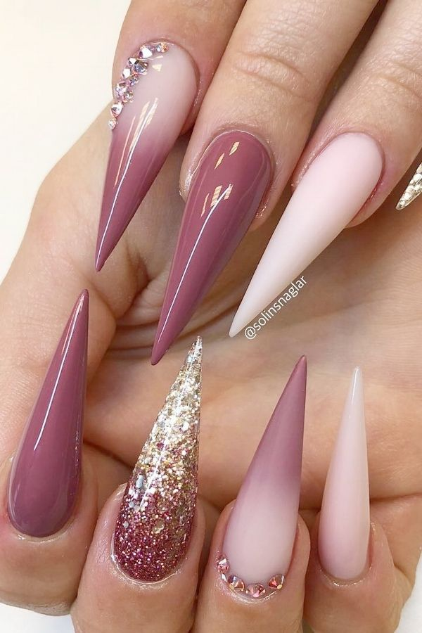 20 Ultra beliebte Long Nails Design & Ideen machen dich cooler – Fashion Lifestyle Blog – NailArt