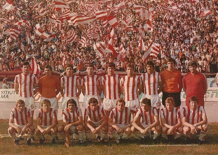 Red Star Belgrade 1976.