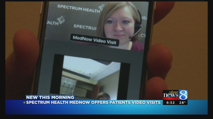 Spectrum Health is offering its telehealth program statewide, allowing patients to see a doctor through their phone or tablet. (Nov. 30, 2015)