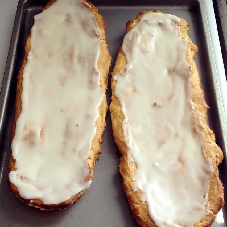 "Danish Almond Kringle! ""One of my favorite treats!""  @allthecooks #recipe #dessert"