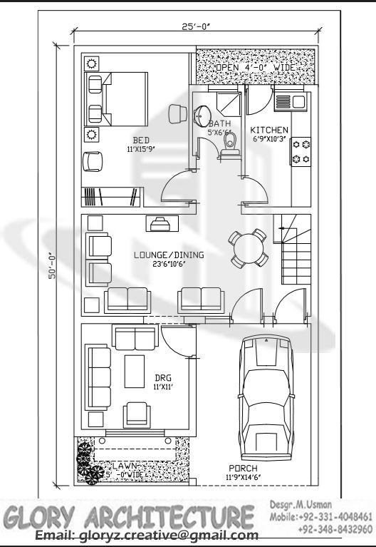 13 Best 25x45 House Plan Elevation Drawings Map Naksha