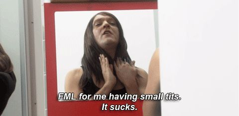 Embrace your small tits. | 28 Ways To Be More Like Ja'mie King