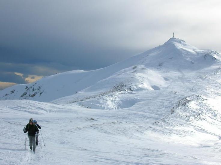 Ski de randonnée dans le Jura #jura #franchecomte #sportsdhiver #montagne