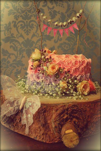 Un pastel inspirado en las hadas #Fairy #Party