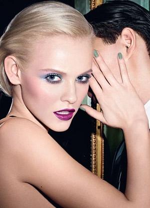 YSL Spring 2013: Arty Stone Makeup Collection { Purple Reigns Beauty 2013, Seafoam, powder blues}