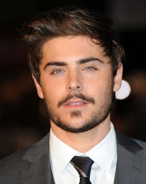 Zac Efron Square Goatee Beard Style Pictures In 2018 Circle Beard