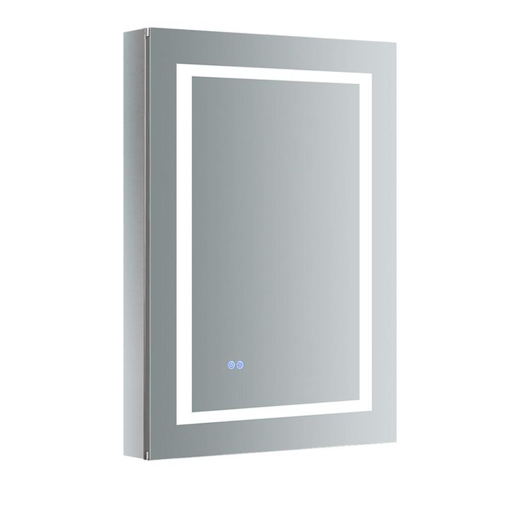 Fresca Spazio 24 in. W x 36 in. H Recessed or Surface Mount Medicine Cabinet wit…   – Products