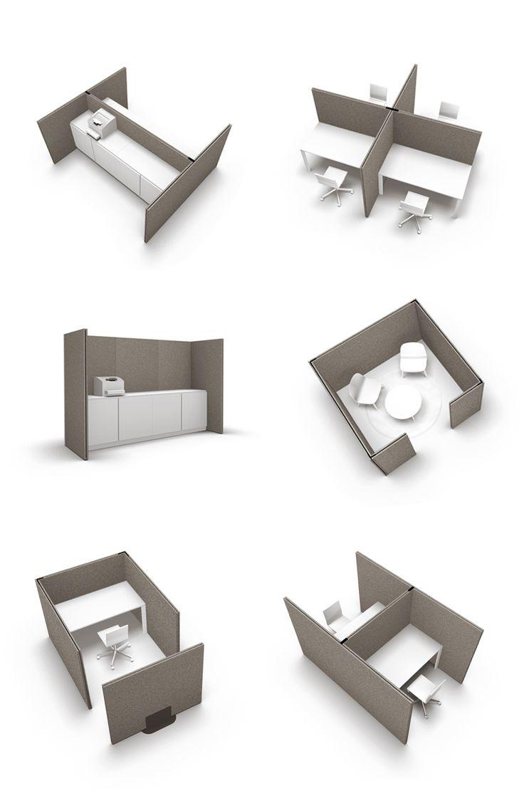Akustik im Büro, Großraumbüro, Open-Space- acousticpearls