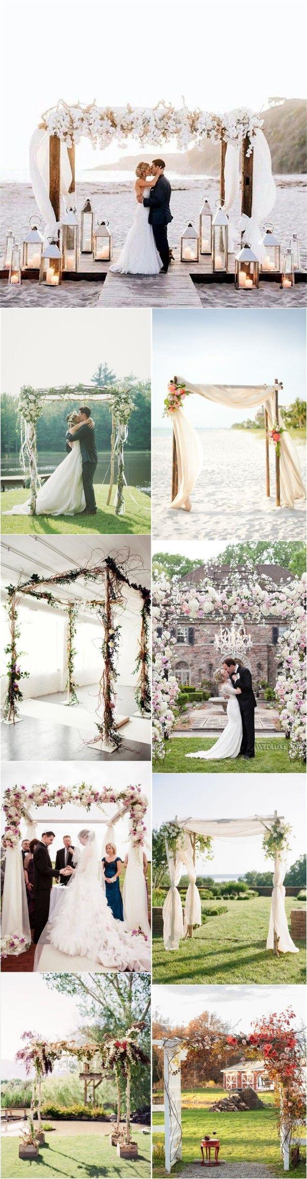 Wedding    Decorations » Imaginative Unique Floral Wedding Chuppah Altar Decoration    Ideas » ❤️ See more:    http://www.weddinginclude.com/2017/06/imaginative-unique-floral-wedding-chuppah-altar-decoration-ideas/