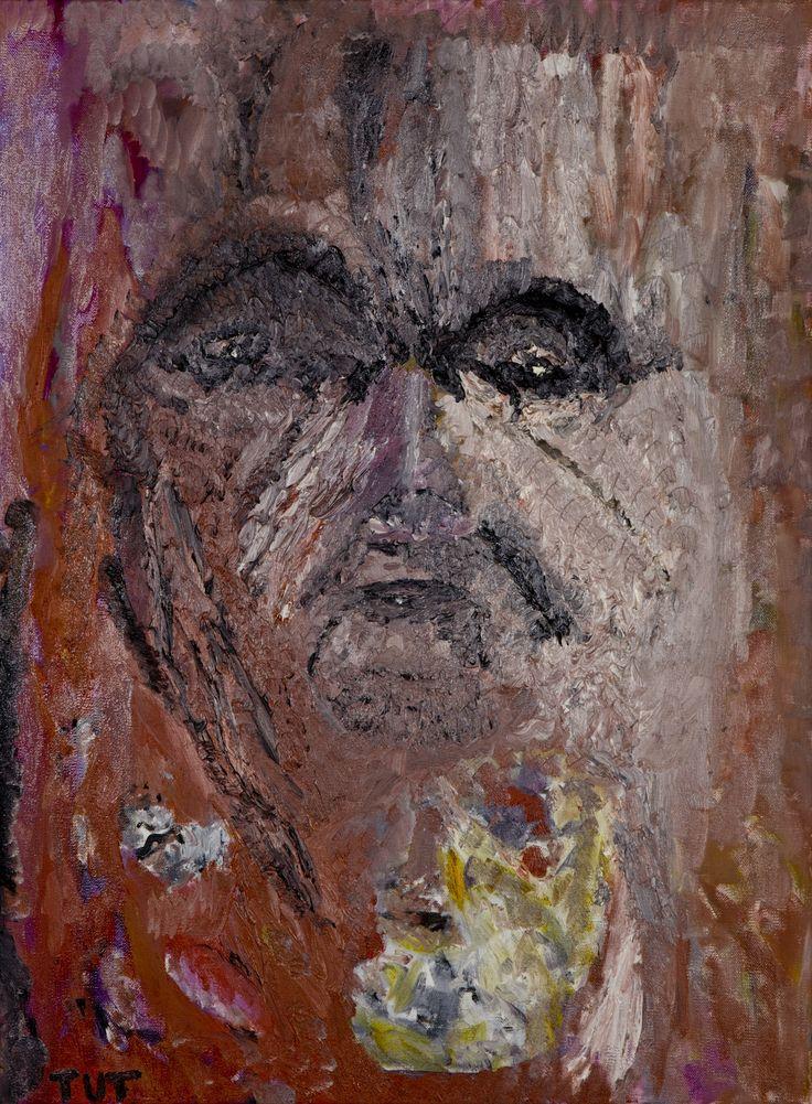 Wojciech Tut Chechliński, Kapiące wspomnienia, olej na płótnie, 81 x 60 cm, 2012 r, sygnowany (kat. 081)