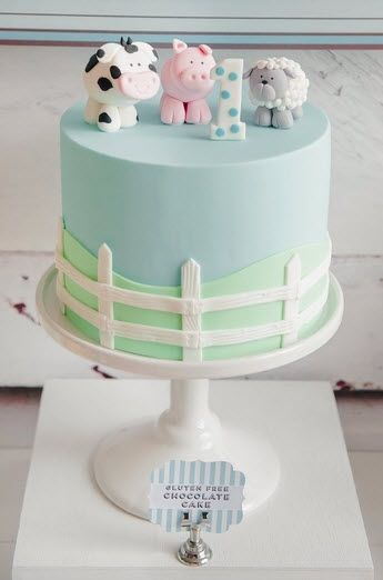 The  Best Boys First Birthday Cake Ideas On Pinterest Baby - Small first birthday cakes