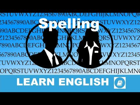 English Course – Lesson 1: Spelling Exercise 2 - E-Angol