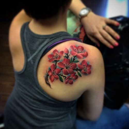 1000 ideas about shoulder blade tattoos on pinterest for Female shoulder blade tattoos