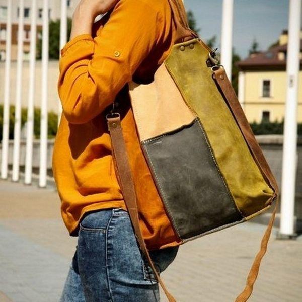 La bolsa de asas de cuero cada bolsa ladybuq días de LADYBUQ por DaWanda.com