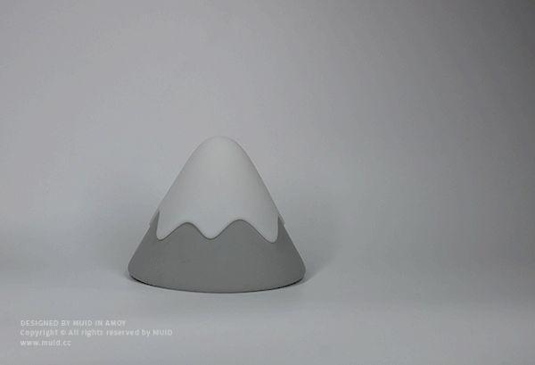 MUID – SNOW MOUNTAIN LAMP #designideas #designinspiration #design #productdesign #design #industrialdesign #lamp #lighting #lampdesign #lightdesign #light