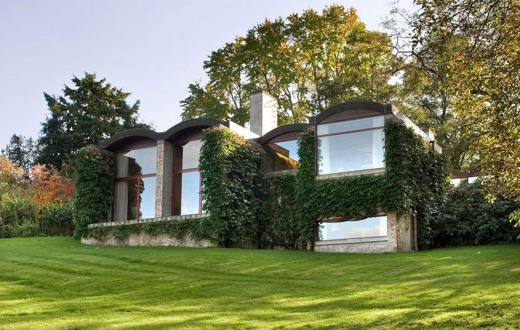 Solid arkitektur til storfamilien - huset er tegnet af arkitekten Gehrdt Bornebusch