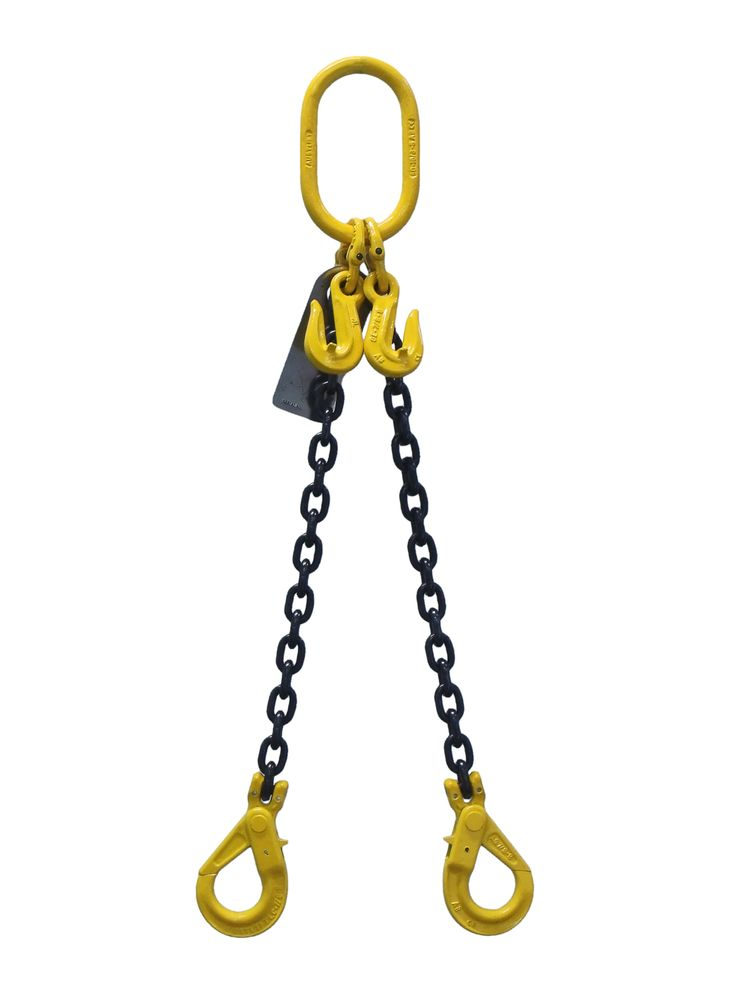 2 legs chain sling distributed by James Crane