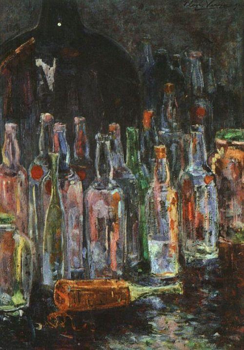 zombienormal: Floris Verster (1861-1927) - Still Life with Bottles, 1892. Kroller Muller Museum, the Netherlands Via.
