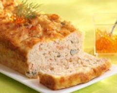Pain de saumon et crevettes (facile, rapide) - Une recette CuisineAZ