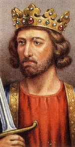 "King Edward I of England, ""Longshanks"".  It's not unusual to trace your lineage back to royalty, as it turns out, but it's still exciting that first time."