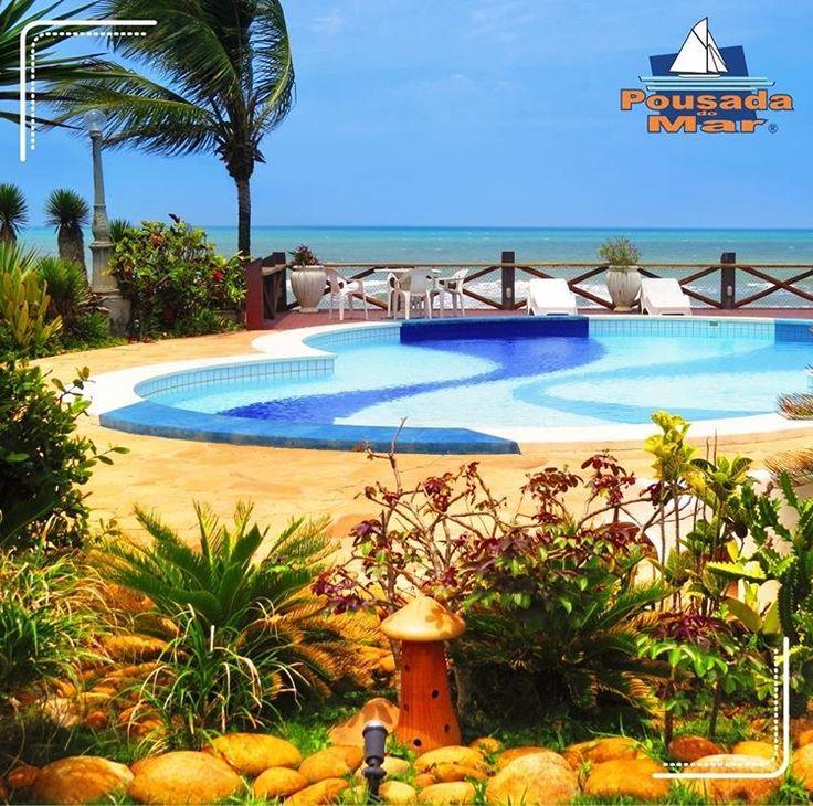 A piscina da Pousada do Mar é uma delícia! Diversão garantida para a família toda, venha conhecer!  #turismo #diversão #lazer #viagens #sofisticação #relaxar #conforto #beiramar #travel #praia #mar #bahia #ilhéus #férias #curtir #PousadadoMar #vempracá #pesnaareia #mordomia  Reserve já  contato@pousadadomar.com.br (73) 3017-5151 / Whatsapp (73) 9 9978-2561 http://pousadadomar.com.br/ http://tipsrazzi.com/ipost/1510096983694841510/?code=BT08TSxhRam