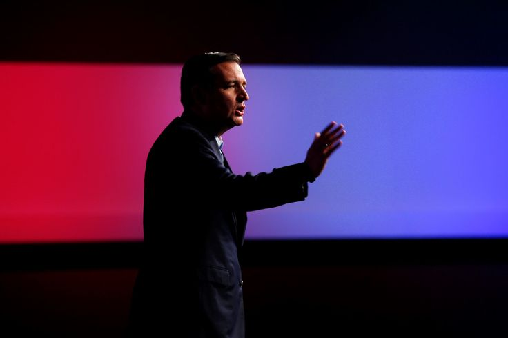 Sen. Ted Cruz campaigns on Aug. 21 in Des Moines, Iowa. - Paul Sancya/AP Photo