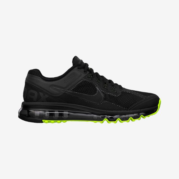 Nike Air Max+ 2013 Limited Edition Men's Running Shoe in black