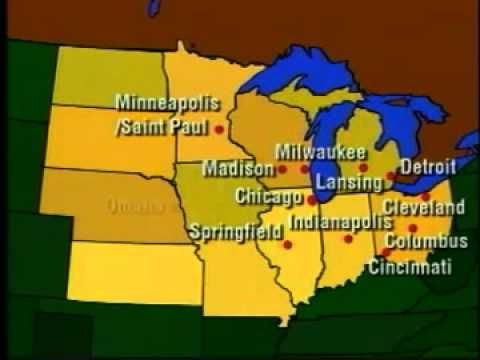 Learning About The Midwest States