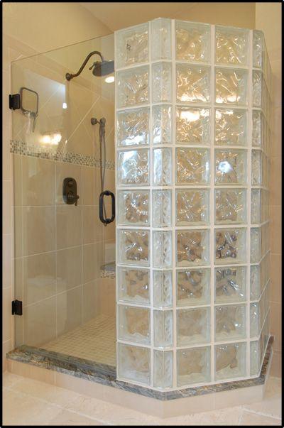 17 best ideas about glass block shower on pinterest for Glass block window design ideas