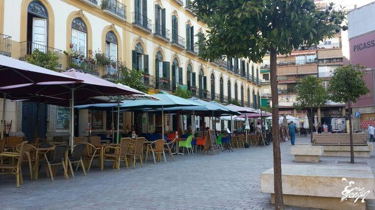 Street... Málaga, Spain Sokak... Malaga, ispanya Tatil, Travel, Deniz, Sea, Summer, Yaz, Sun, Güneş