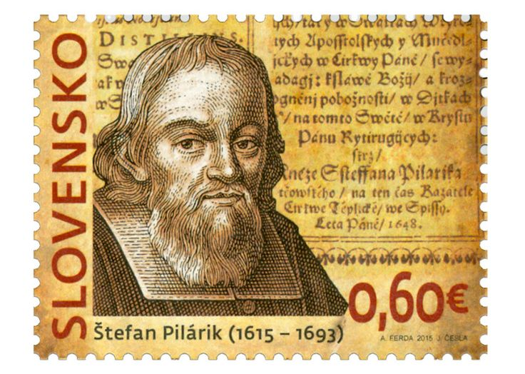 COLLECTORZPEDIA: Slovakia Stamps 400th Birth Anniversary of Štefan Pilárik