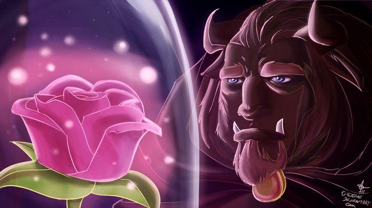 La Beast • En attendant que le Charme se rompre mais surtout de trouver le grand Amour 💖 ~ ♔ Prince Adam ♔ {Beast} / 🌷 la Rose 🌷 {Compte à rebours du Charme} ~ Film d'Animation : ♕ La Belle et la Bête ♔ (1991 • Disney)