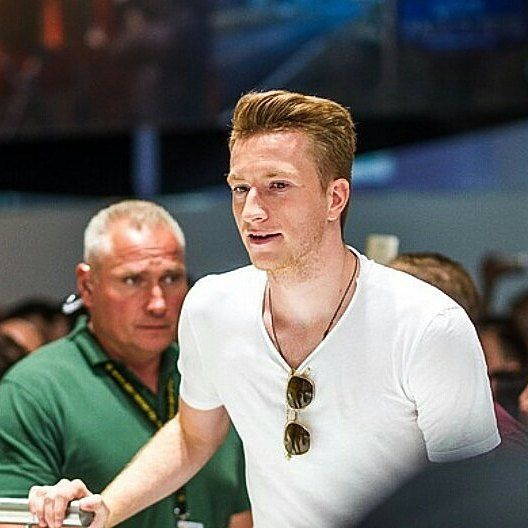 Marco Reus at Gamescom today (Aug 23)