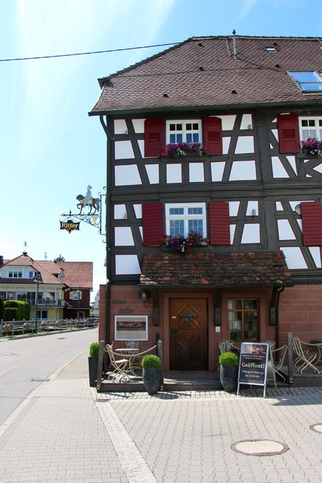 Hotel Ritter Durbach - Spa, Wanderung in den Weinbergen und Gourmet-Restaurant Wilder Ritter (mit Michelin-Stern)