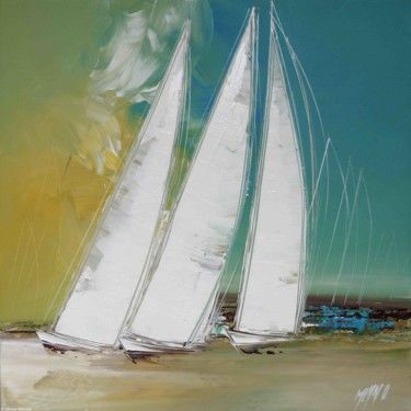 Les 3 voiliers by Olivier Messas