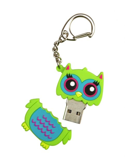 Owl 4gb Critter Flash Drive   Girls New Arrivals Features   Shop Justice