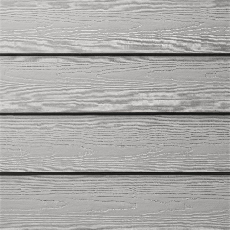 Lowe's James Hardie Pearl Gray Plank Siding