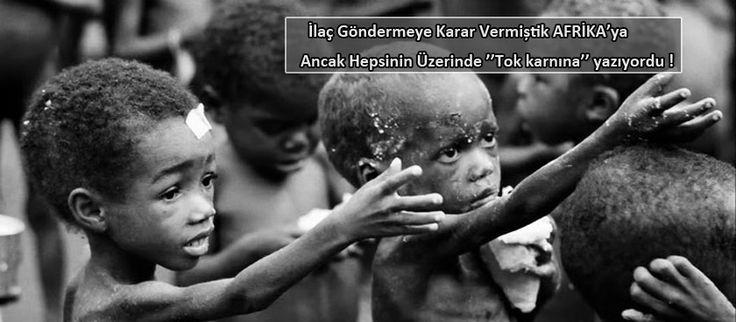 Afrikalı Çocuklar Aç......
