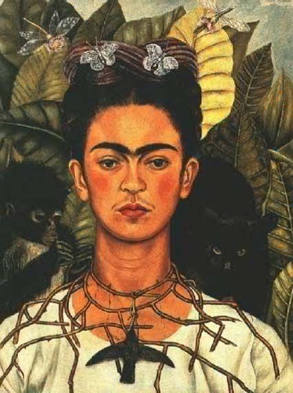 Frida Kahlo (self portrait) - Кало, Фрида — Википедия