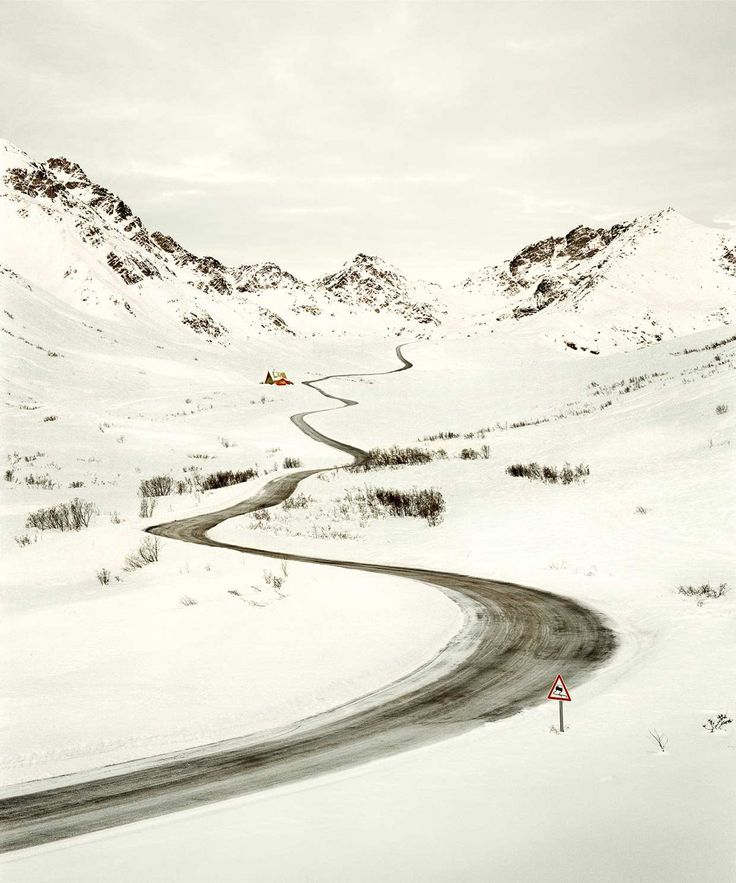 Christian Schmidt Captures Roads In Desolate Landscapes #inspiration #photography