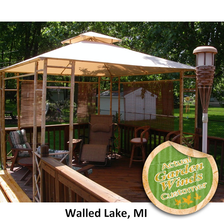 17 Best Ideas About Gazebo Replacement Canopy On Pinterest