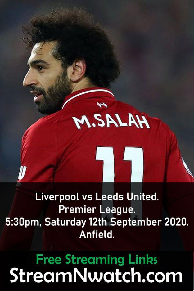 Liverpool Vs Leeds United Leeds United Liverpool Leeds