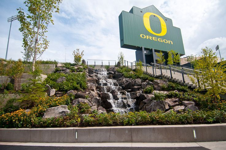 Autzen Stadium, University of Oregon Ducks, Eugene Oregon, Pac12