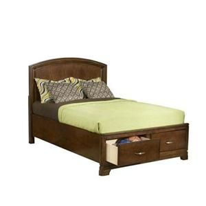 Newport Beach Full-Size Pacific Coast Panel Bed with Storage Footboard by Legacy Classic Kids at Belfort Furniture