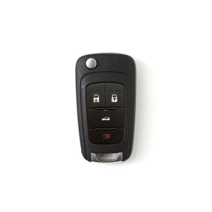 Chevrolet smart key Buttero leather keycase from Custom Republic. We use Buttero leather from the Walpier Tannery in Italy. The leather is smooth and soft on the surface. The look and the colors deepen as it ages with time.