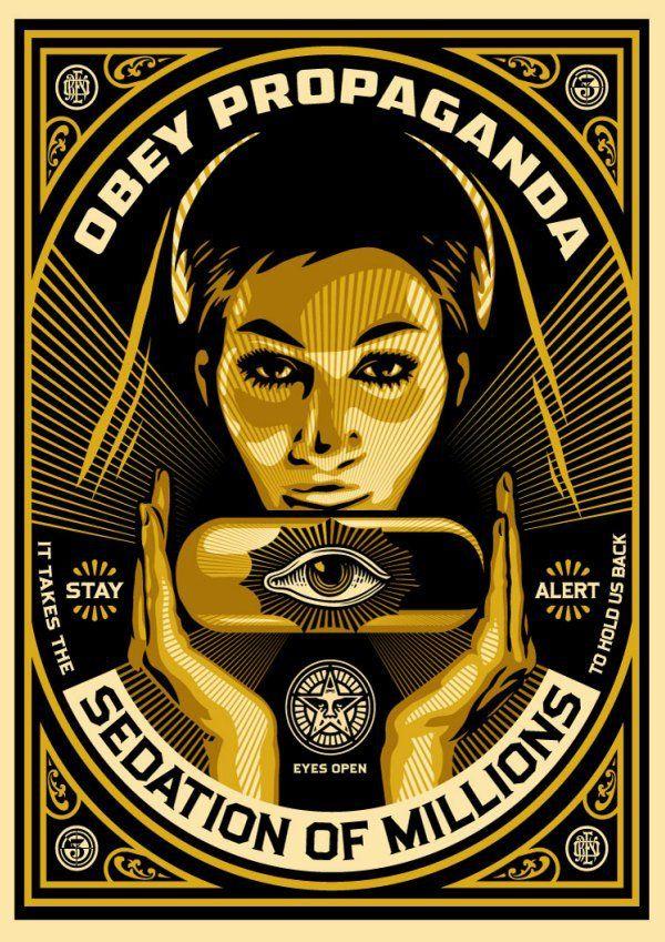 OBEY Sedation of Millions Galería Virtual territoriotoxico.wordpress.com