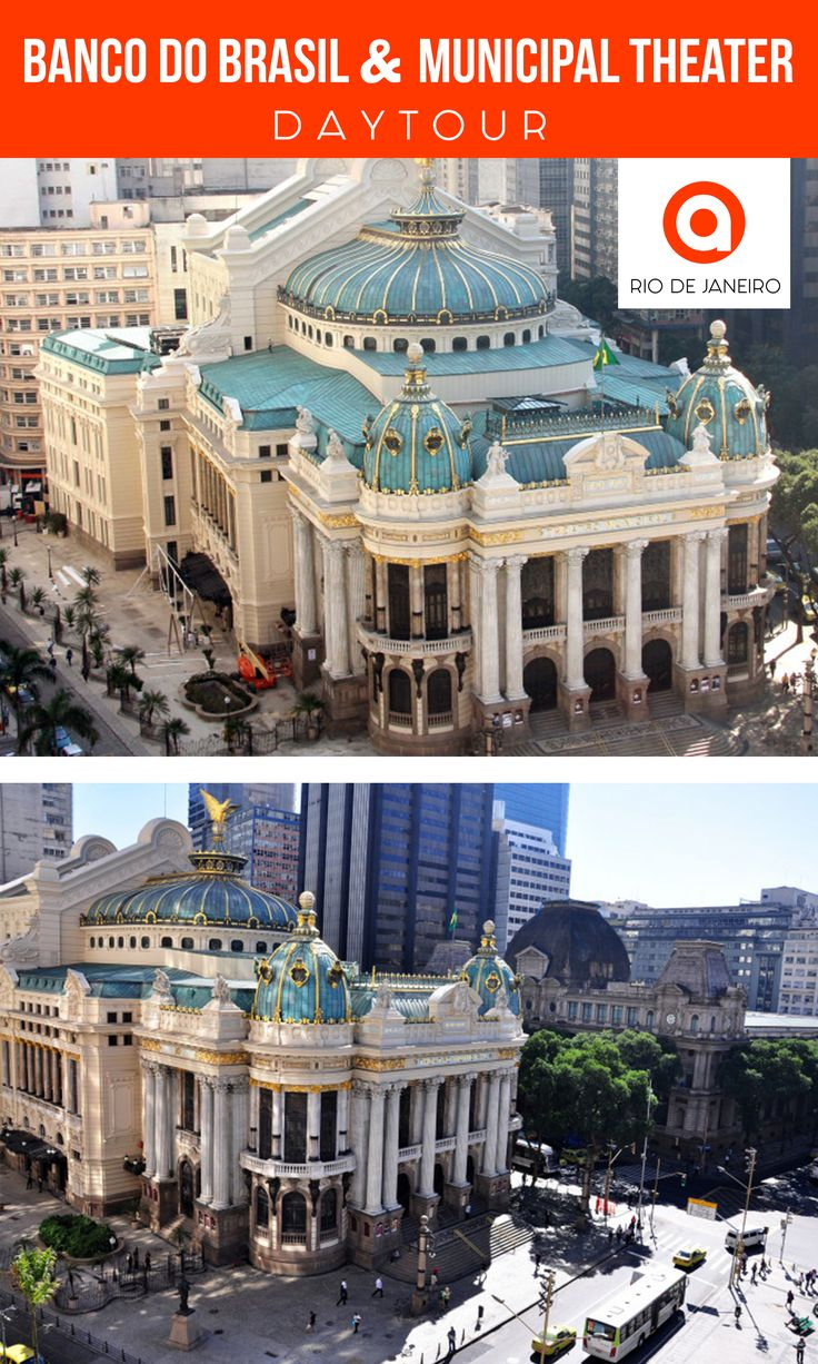 Get to see the best #sightseeing spots in #Rio. From San Benito Monastery to art-nouveau masterpiece - #Municipal #Theatre.