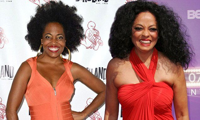 Rhonda Ross Kendrick looks just like her mother, Diana, at Jazz gig