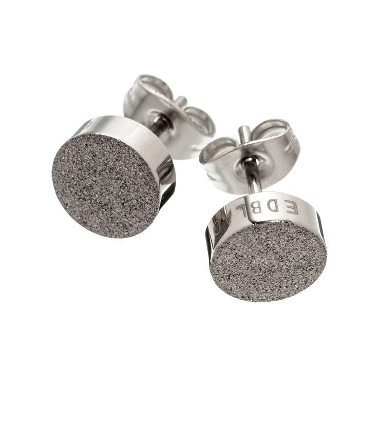 Dottie studs glittering steel | Edblad